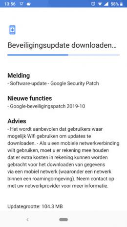 Nokia 6.1 oktober update