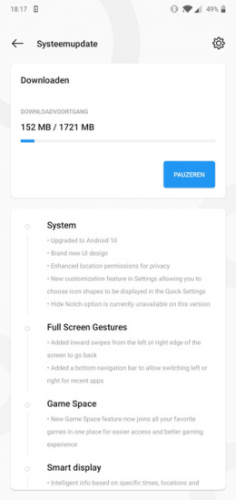 OnePlus 6T 6 Android 10 beta