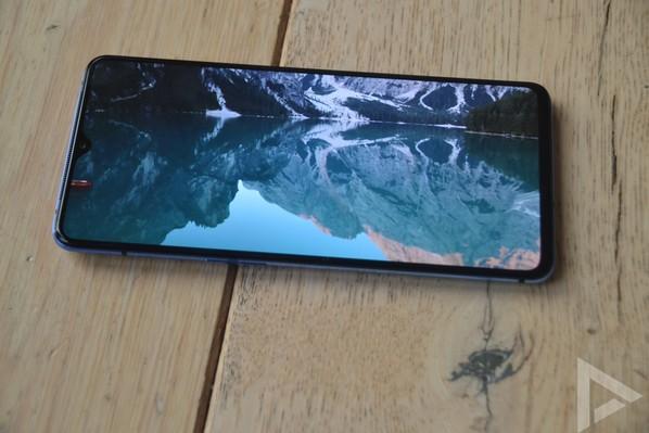 OnePlus 7T beeldscherm
