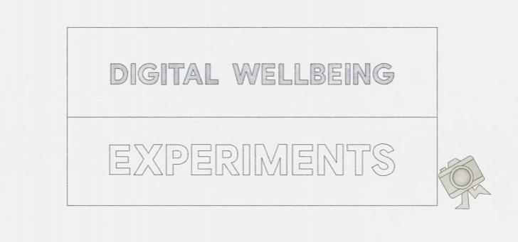Google experimenteert met interessante apps voor digitaal welzijn