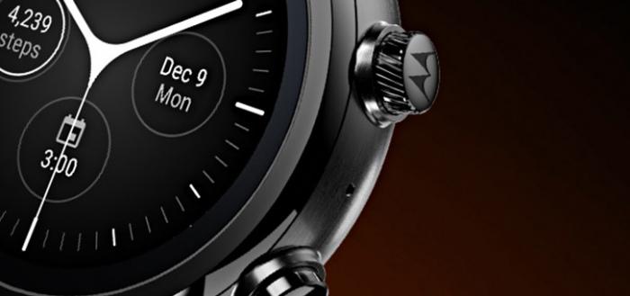 Motorola presenteert onverwacht nieuwe smartwatch: Moto 360 (3e generatie)