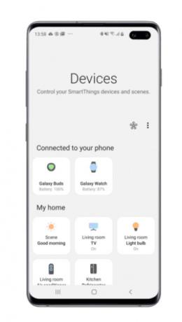 Galaxy S10 update apparaten