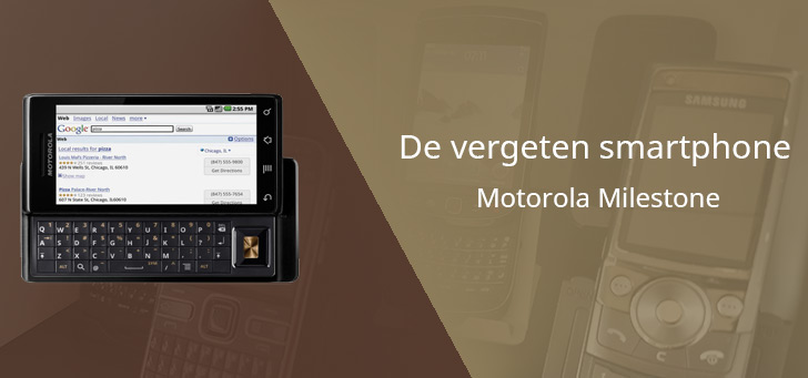 Motorola Milestone vergeten header