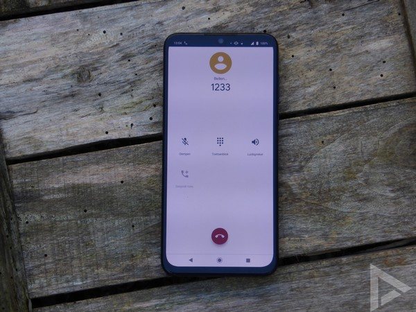 Motorola One Zoom bellen