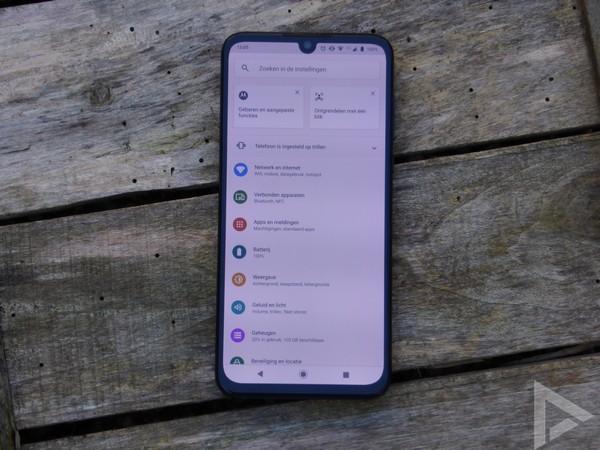 Motorola One Zoom instellingen