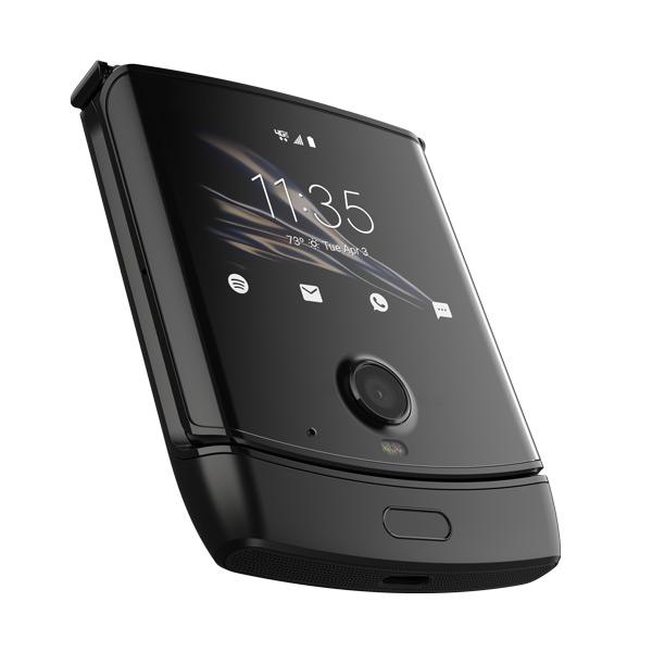 Motorola Razr extern scherm