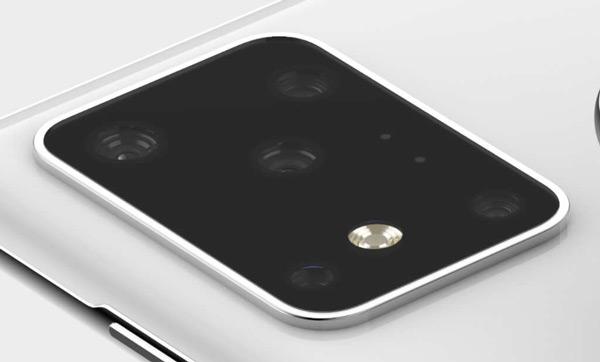 Samsung Galaxy S11+ camera