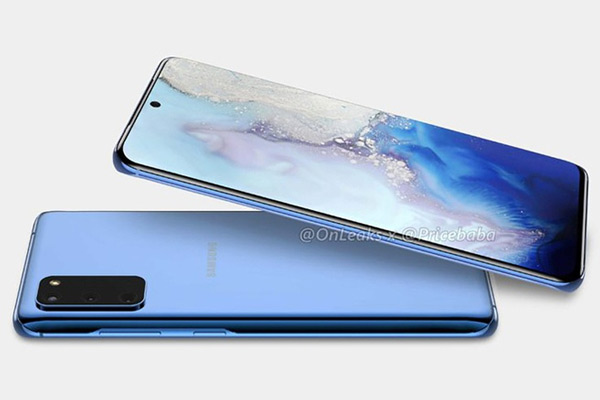 Samsung Galaxy S11e render