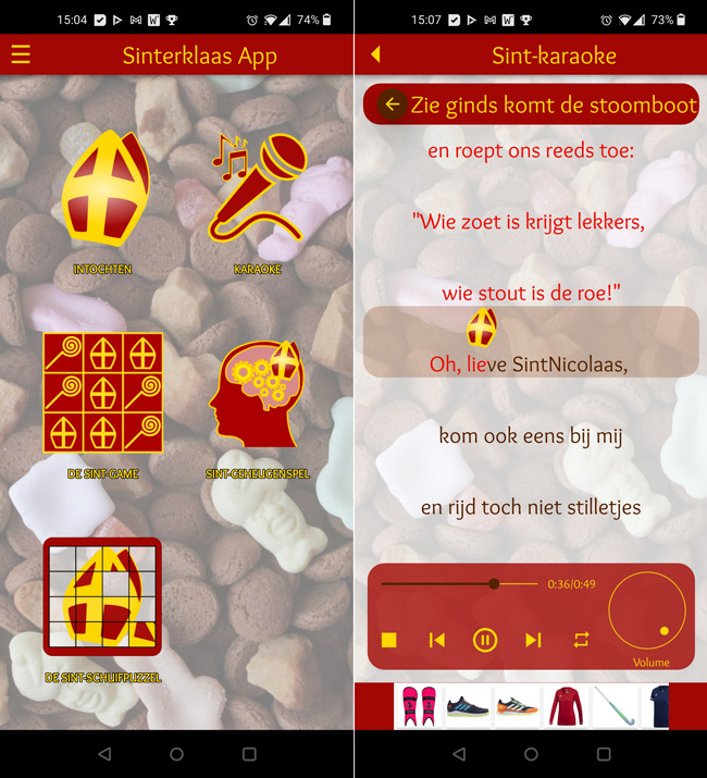 Sinterklaas app