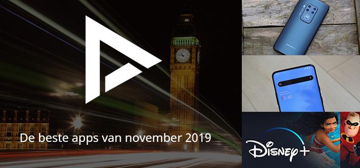 De 5 beste apps van november 2019 (+ het belangrijkste nieuws)