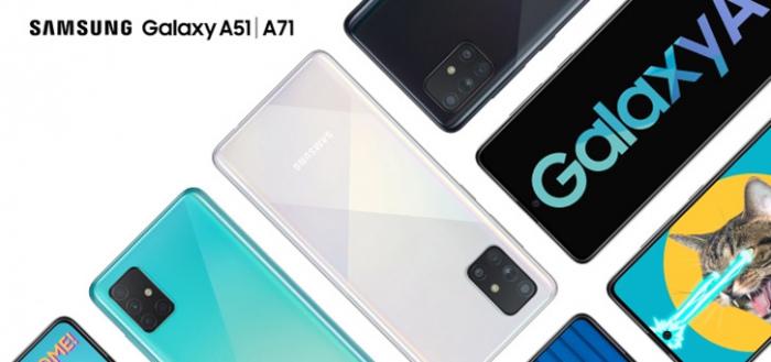 Samsung kondigt Galaxy A51 en A71 met quad-camera aan voor Nederland