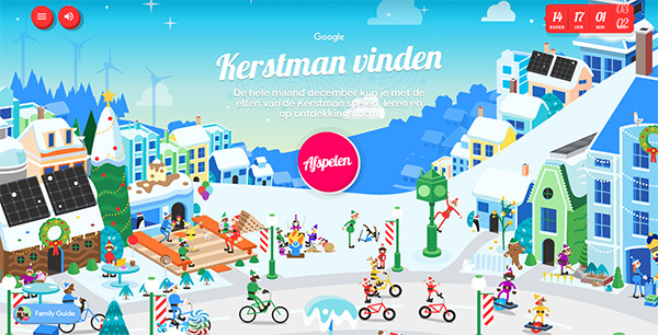 Google Santa Tracker 2019