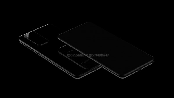 Huawei P40 (Pro) render