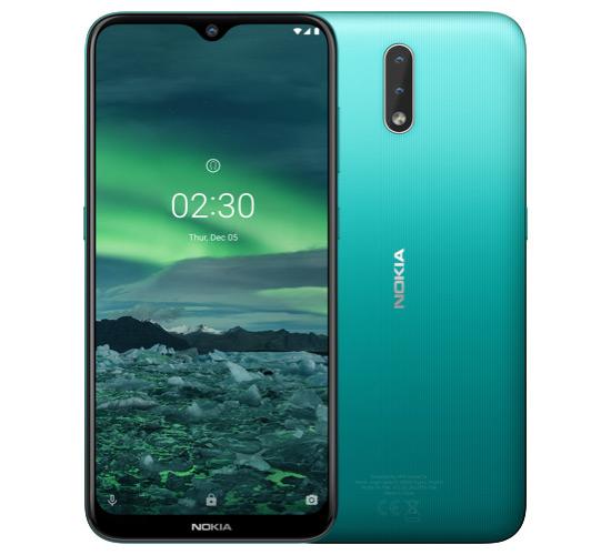 Nokia 2.3 cyaan