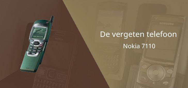De vergeten telefoon: Nokia 7110