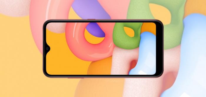 Samsung presenteert nieuwe Galaxy A01 instapper met prima specs