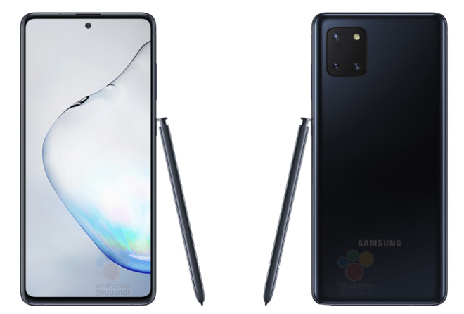Samsung Galaxy Note 10 Lite productfoto