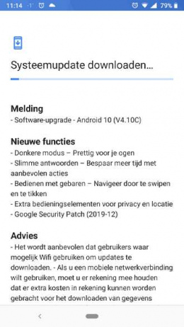 Android 10 Nokia 6.1