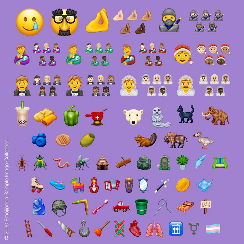 Emoji 13.0 all