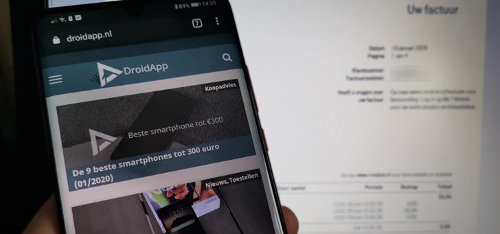 DroidApp onderzoekt: hogere telefoonrekening door inflatiecorrectie, hoe zit het?