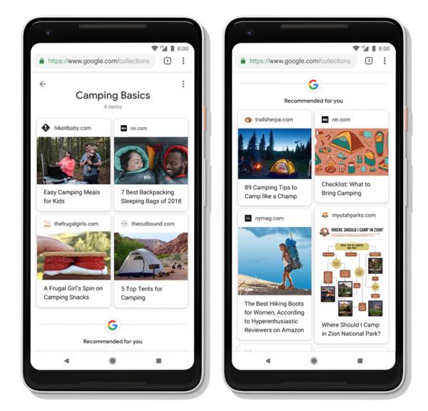 Google Collecties