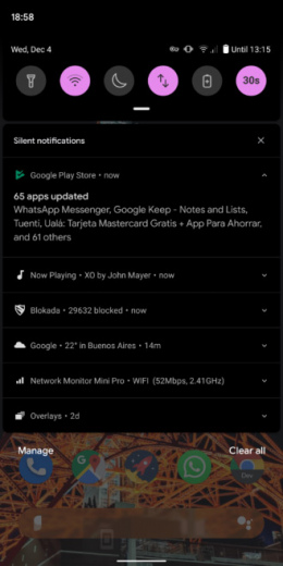 Google Play Store notificatie