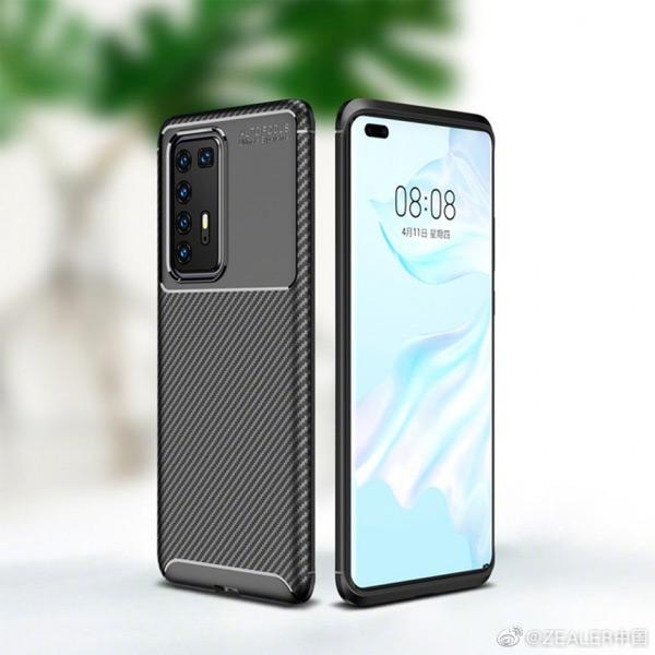 Huawei P40 Pro case render