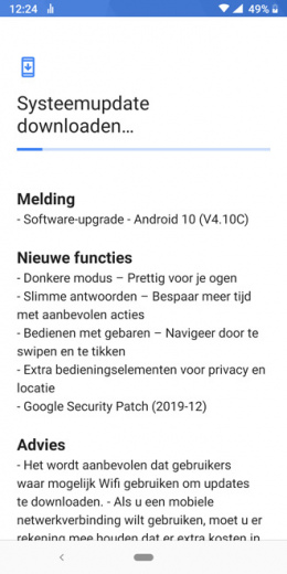 Nokia 7 plus android 10