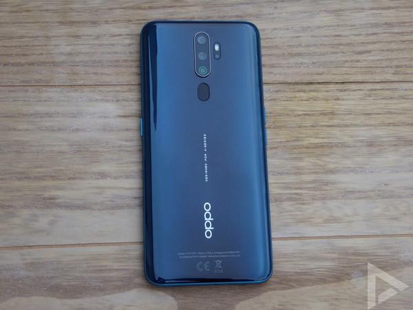 Oppo A9 2020 achterkant
