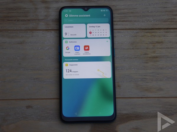 Oppo A9 2020 assistent