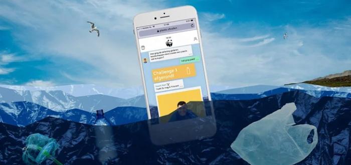WNF Plastic Afvallen app: help met de challenge voor milieuvriendelijker leven