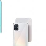 Samsung Galaxy A51 header