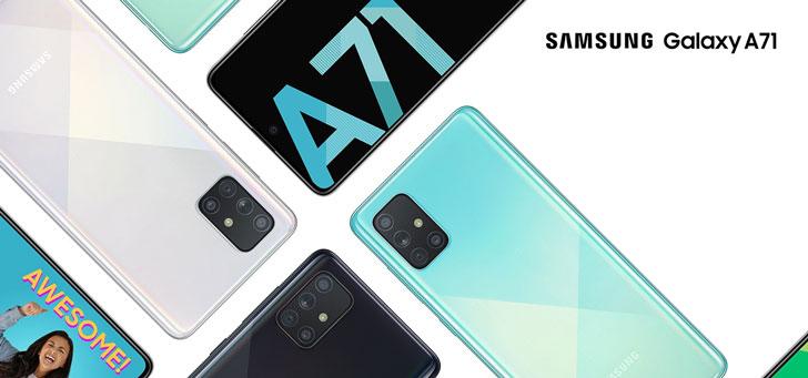 Samsung Galaxy A71 en LG Velvet worden bijgewerkt naar Android 11
