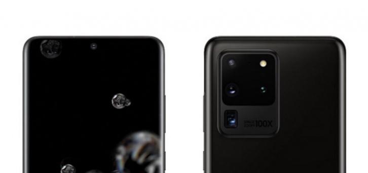 Live foto van Samsung Galaxy S20 Ultra toont enorme cameramodule; ook LED Cover getoond