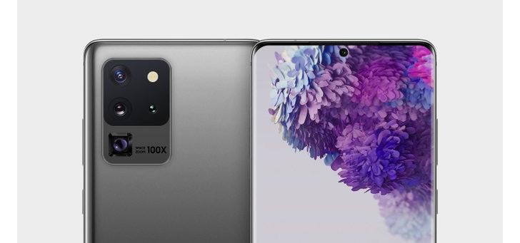 Samsung Galaxy S20 Ultra: nieuwe render geeft goed beeld van toestel