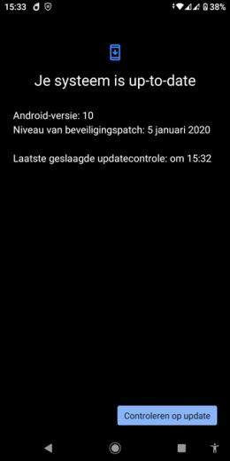 Xiaomi Mi A2 januari-update