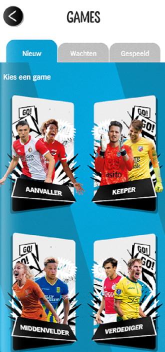 AH Voetbal app games