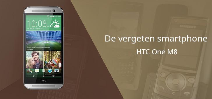 HTC One M8 vergeten header