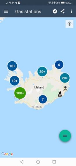 Island Ringstraße App