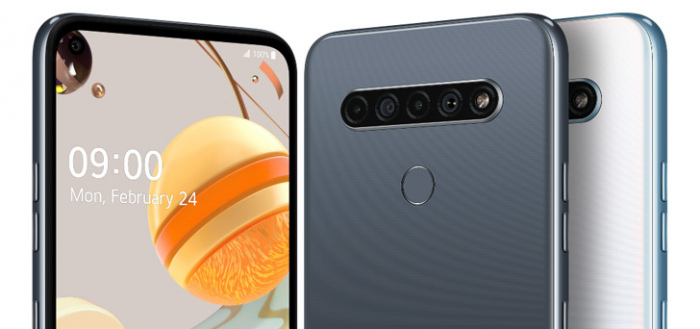 LG kondigt drie smartphones met quad-camera aan: LG K61, K51S en K41S