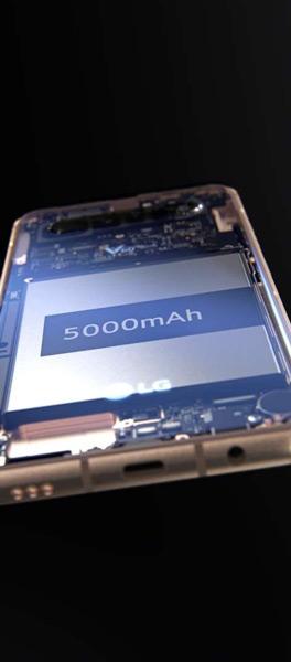 LG V60 ThinQ accu