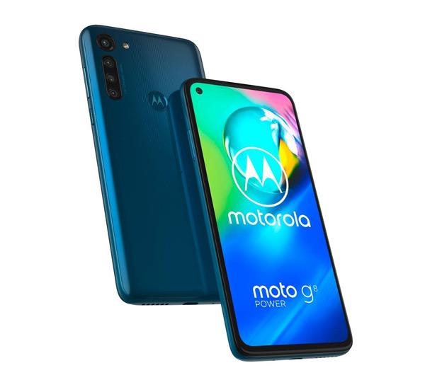 Moto G8 Power blauw