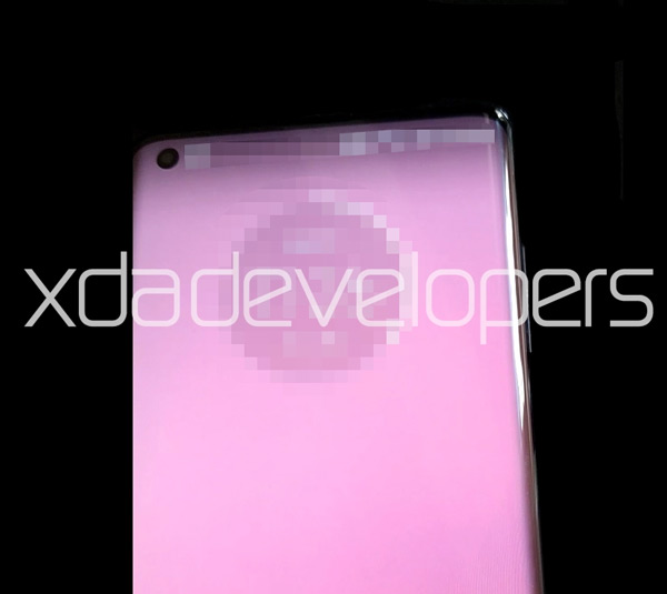 Motorola Gebogen scherm