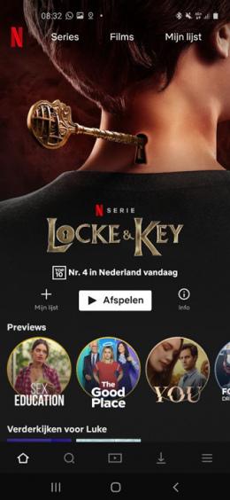 Netflix app Top 10