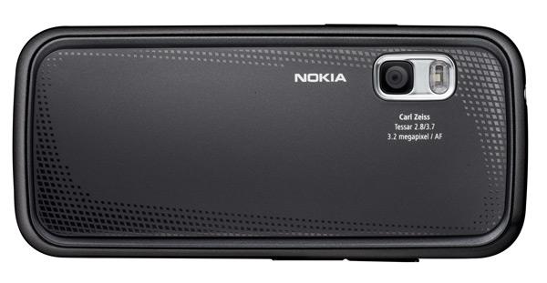 Nokia 5730 XpressMusic achter
