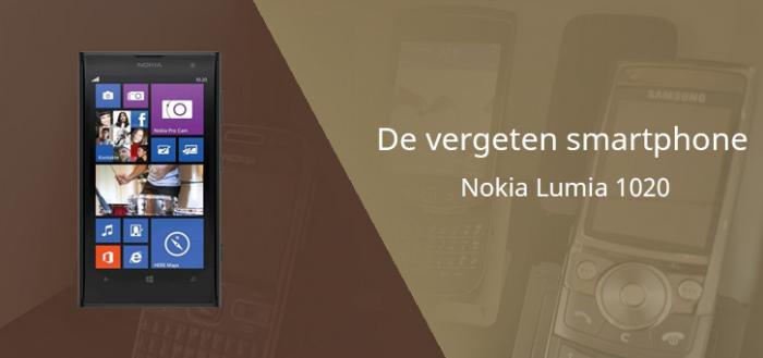 De vergeten smartphone: Nokia Lumia 1020