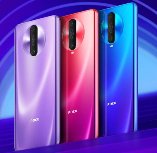 Poco X2 kleuren