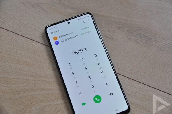 Samsung Galaxy A51 bellen