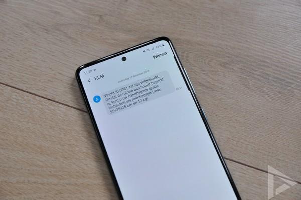 Samsung Galaxy A51 SMS