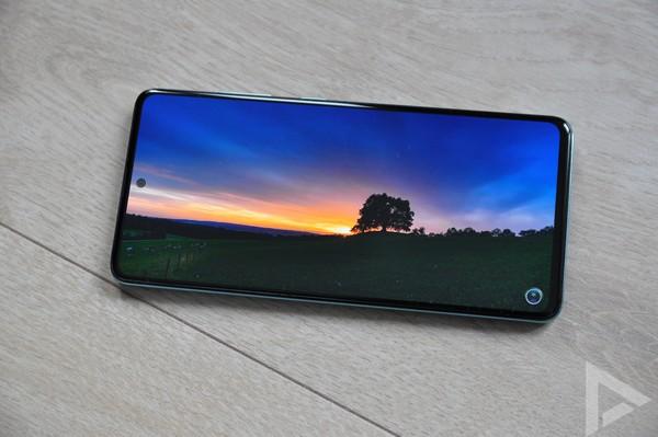 Samsung Galaxy A51 beeldscherm